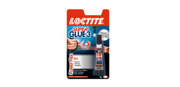 ADHESIVO INSTANTANEO SUPER GLUE-3 POWER GEL