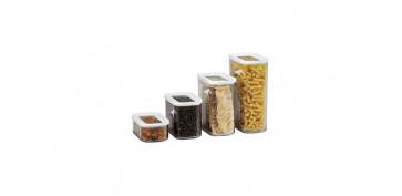 Ordenacion y conservacion de cocina - BOTE HERMETICO ACRILICO MODULA2750 ML BLANCO