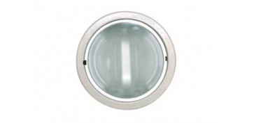 Iluminacion vivienda - EMPOTRABLE REDONDO DOWNLIGHT 2X25W-BLANCO