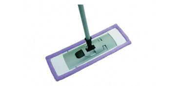 Utiles de limpieza - MOPA MICROFIBRA CON MANGO TELESCOPICO 80 A 140CM