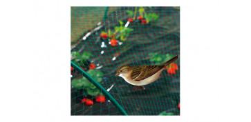 Plantas y cuidado de las plantas - MALLA ANTIPAJAROS BIRDNET VERDE (18X18MM) 4X12