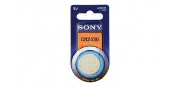 PILA BOTON DE LITIO SONY. CR-2430