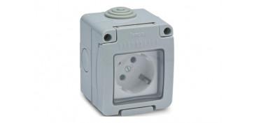 Material instalacion electrico - BASE ENCHUFE TT ESTANCO 16A