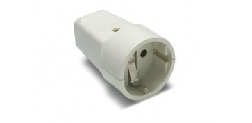 Material instalacion electrico - BASE MOVIL 10/16A BLANCO