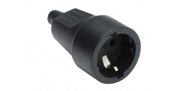 Material instalacion electrico - BASE MOVIL CAUCHO 10/16A