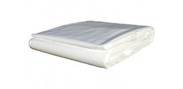 Toldos y plasticos protectores - TOLDO POLIETILENO STANDARD 90GR 2 X3 M BLANCO