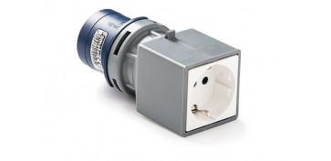 Material instalacion electrico - ADAPTADOR INDUSTRIAL IP44 2P+T BASE 2P