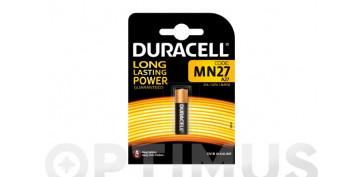 Pilas y baterías - PILA MANDO DISTANCIA DURACELL MN 27