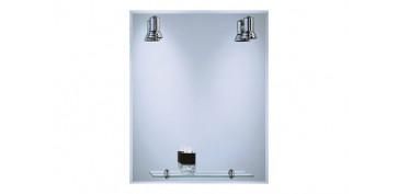 Accesorios para el baño - ESPEJO LUMINOSO 60X75 LUX-10 B-804