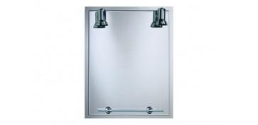 Accesorios para el baño - ESPEJO LUMINOSO 60X75 LUX-11 B-808