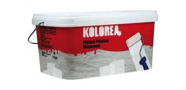 Pintura para paredes, techos y suelo - PINTURA PLASTICA MONOCAPA BLANCA INTERIOR 5 KG