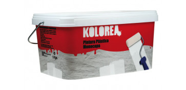 BRICOLAJE 2019 - PINTURA PLASTICA MONOCAPA BLANCA INTERIOR 5 KG