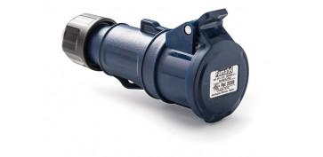 Material instalacion electrico - BASE AEREA CETAC 2P+T 16A 230V IP44