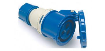 Material instalacion electrico - BASE AEREA CETAC 3P+N+T 16A IP44