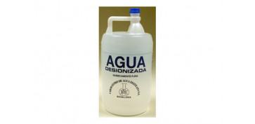 Productos quimicos - AGUA DESTILADA 5 LITROS