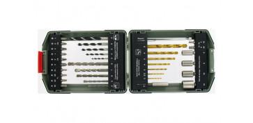Juegos y kits para herramientas - BROCAS PUNTAS JGO 35PZ TIVOLY 1190117-0029