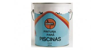 Pintura para paredes, techos y suelo - PINTURA PISCINA CLORUROCAUCHO 4 L