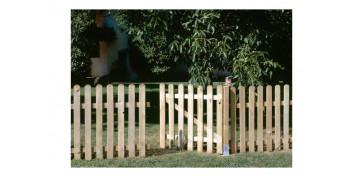Cercado y ocultacion jardin - VALLA CLASICA MADERA80X210 CM