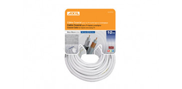 Cables - CABLE COAXIAL TV 19VAT-C BLANC CA 0712E/ 10M