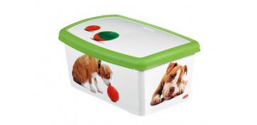 Productos para mascotas - CAJA DECORADA ACCESORIOS PERROS 04706-P77-04