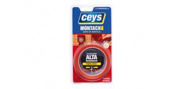 CINTA MONTAJE MONTACK EXPRESS 2,5 M X 19 MM