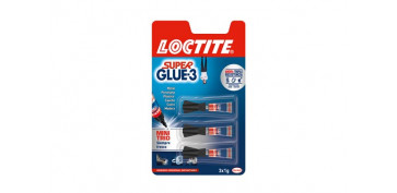 ADHESIVO INSTANTANEO SUPER GLUE-3 MINI TRIO 3X1G
