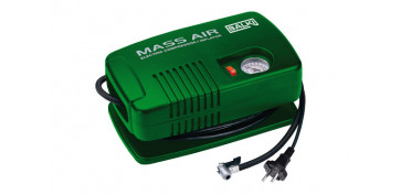 COMPRESOR AUTOMOVIL MINI 230 V - 125 PSI / 8,62 B CON MANOMETRO