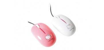 Informatica - RATON OPTICO ROLLY KITTY BLANCO