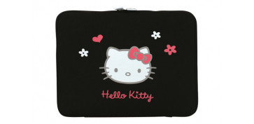 "FUNDA TABLET HELLO KITTY 10-12"" NEGRO"