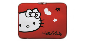 "FUNDA TABLET HELLO KITTY 10-12"" ROJA"