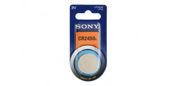 PILA BOTON DE LITIO SONY. CR-2450