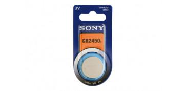 Pilas y baterías - PILA BOTON DE LITIO SONY. CR-2450
