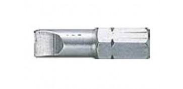 Accesorios para herramientas - PUNTA ATORINLLAR PLANA 1/4-25MM0.8X5.5