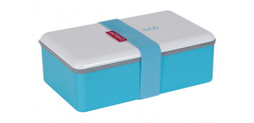 CONTENEDOR LUNCH BOX 1.1L RECT. 31778-AZUL T