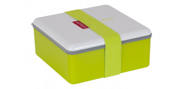 CONTENEDOR LUNCH BOX 1.1L CUADRADO 71776-VERDE