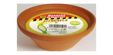 Decoración - VELA CITRONELA MACETA TERRACOTA Ø23CM BOL CONICO