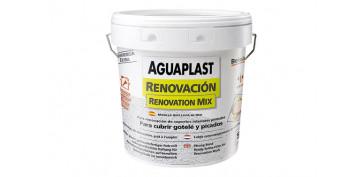 Masillas y siliconas - AGUAPLAST RENOVACION 4KG/PASTA