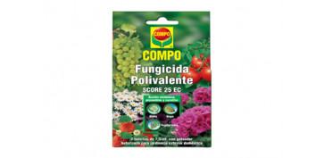 Plantas y cuidado de las plantas - FUNGICIDA POLIVALENTE CONCENTRADO LIQUIDO 2 X7,5ML