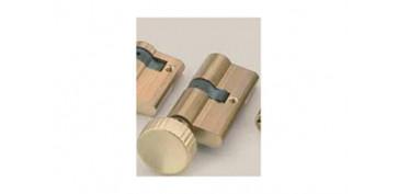Cerraduras - BOMBILLO 60MM CON POMO COM.ELECTRICA CFE 2000/60P