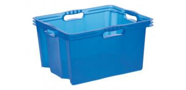 Cajas y baules - CAJA S/TAPA MULTIBOX XL 24L AZUL-247.57LE