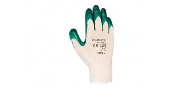 Guantes - GUANTE POLIESTER/ALGODON+LATEX 122210G/T.10