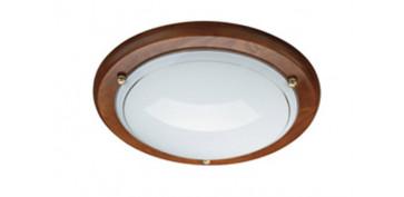 Iluminacion vivienda - PLAFON REDONDO FERGIE ROBLE B703681153