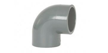 CODO HEMBRA-HEMBRA 90º ENCOLAR PVC PRESION Ø 40