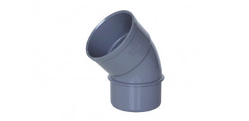 CODO MACHO-HEMBRA 45º PVC EVACUACION CMH-116 Ø 110