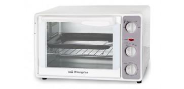 Electrodomesticos de cocina - HORNO ELECTRICO SOBREMESA 23 L 1500W BLANCO