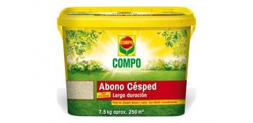 Plantas y cuidado de las plantas - ABONO CESPED GRANDES JARDINES BOX7,5KG