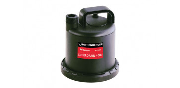 Bombas sumergibles - BOMBA TRABAJO CONTINUO AGUAS LIMPIAS 80W 3.000 L / H -SUPERDRAIN