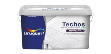 PINTURA PLASTICA TECHOS2.5L-BLANCA