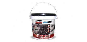 Masillas y siliconas - SILICONA LIQUIDA AQUABLOCK SL3000 1 KG TEJA