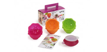 Coccion - MINI CAKE KIT SILICONA JARDIN